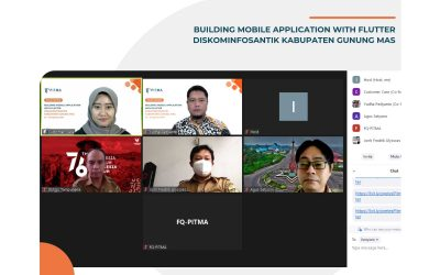 Building Mobile Application with Flutter – DISKOMINFOSANTIK Kabupaten Gunung Mas