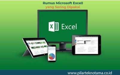 Rumus Microsoft Excell yang Sering Dipakai